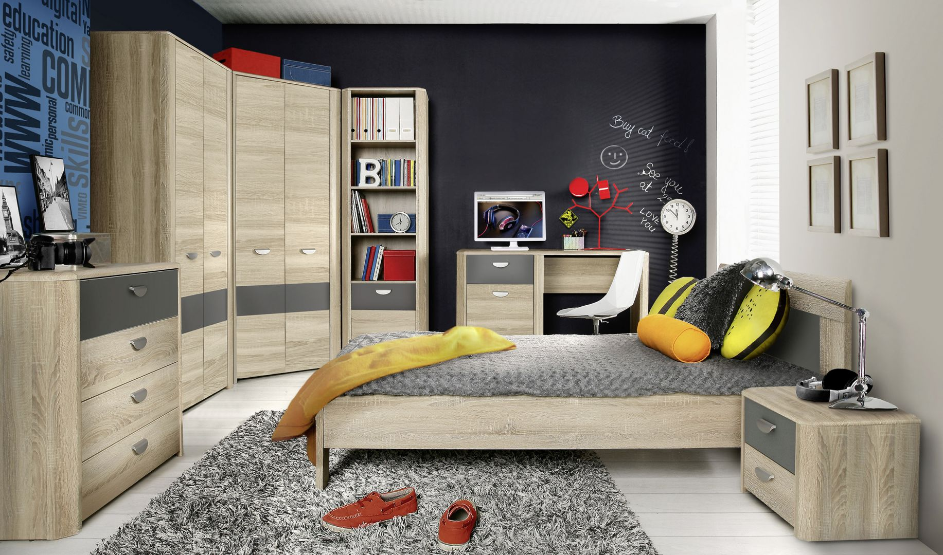 einrichtungsideen f rs g stezimmer m bel mit. Black Bedroom Furniture Sets. Home Design Ideas