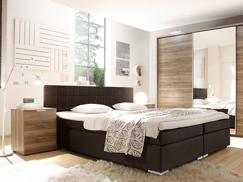boxspringbetten m bel mit. Black Bedroom Furniture Sets. Home Design Ideas