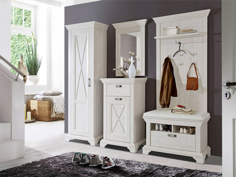 dielenm bel set m bel mit. Black Bedroom Furniture Sets. Home Design Ideas