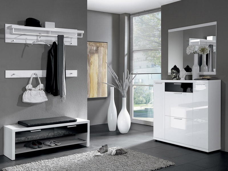 garderobe modern m bel mit. Black Bedroom Furniture Sets. Home Design Ideas